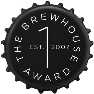 The Brewhouse Award, logodesign av grafiska formgivaren Jörgen Nordqvist
