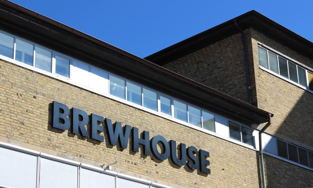 Brewhouse fasad